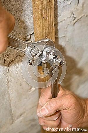 Installing Plumbing Valve