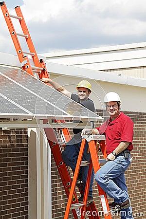 Installing Solar Panels DT