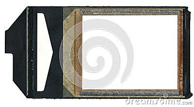 Instamatic Film Border with Black Pull Tab