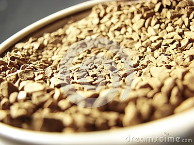 Instant coffee closeup 3