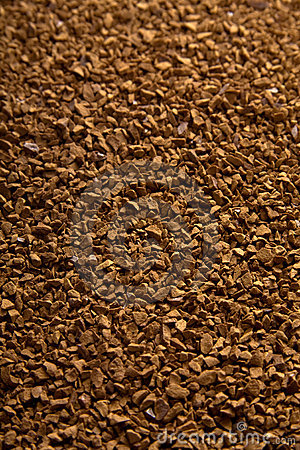 Instant coffee powder background