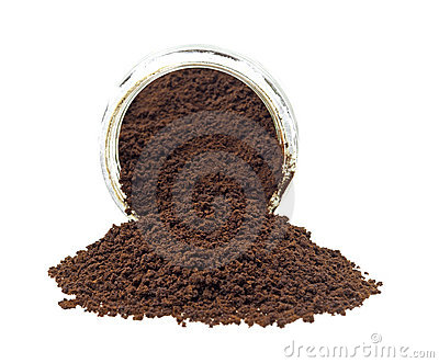 Instant coffee spilling