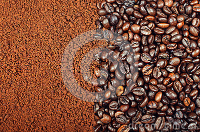 INSTANT COFFEE VS COFFEE BEANS