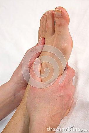 Instep Massage Royalty Free Stock Images - Image: 13402109
