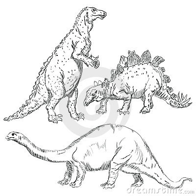 Inställda dinosaurs
