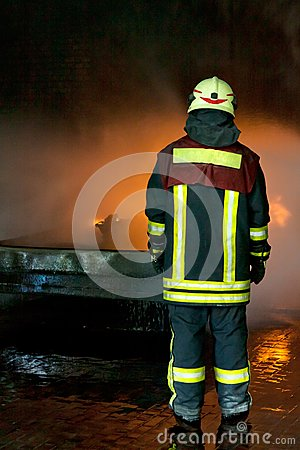 Instructor for firefighting