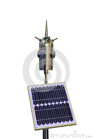 Instrument for measuring atmospheric electricity
