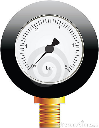Instrument for measuring pressure