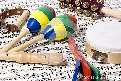 Instrumente 2 der Kinder