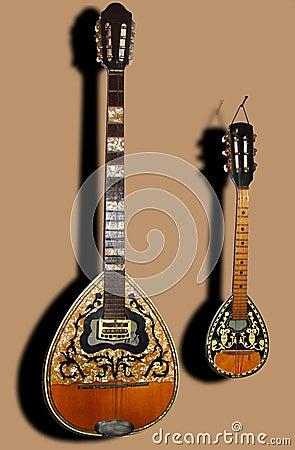 Instrumento de la cadena de la música