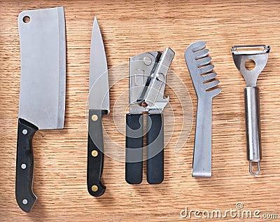 Instrumentos de la cocina foto de archivo imagen 21042030 for Instrumentos de cocina profesional