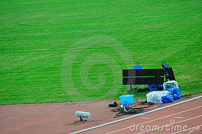 Instruments on competition field