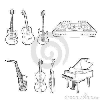 Instrumentu musicalu set