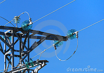 Insulators of medium voltage tower