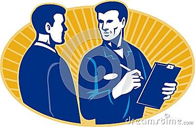 Insurance Adjuster Mechanic Client