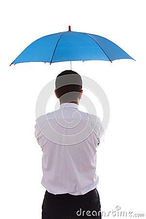 Insurance agent businessman