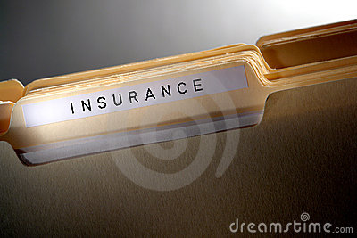 Insurance File Folder for Casualty Policy Papers