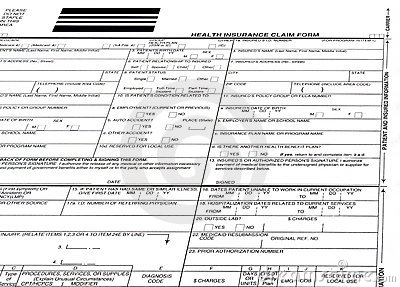 insurance form blank isolated, safety, risk