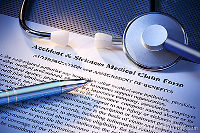 Insurance Medical Claim Form