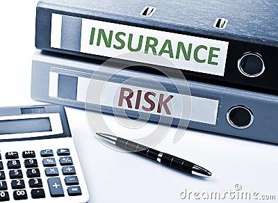 Insurance write on folder