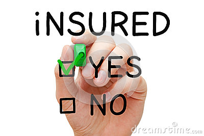 Insured Yes Green Marker