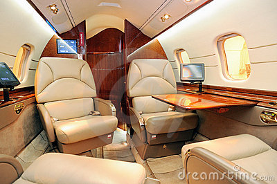 Int rieur d 39 avion r action photographie stock image for Interieur d avion