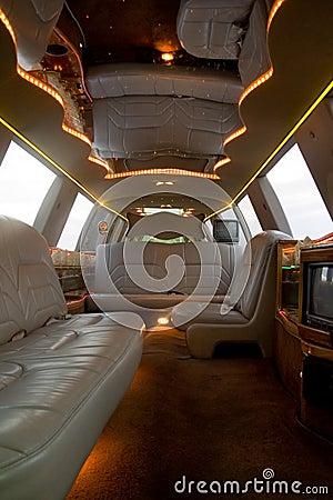 Int rieur de limousine image stock image 1632471 for Interieur limousine