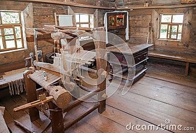 int rieur de vieille maison en bois rurale image ditorial image 45801410. Black Bedroom Furniture Sets. Home Design Ideas