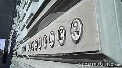 Intérieur du café célèbre New York à l'hôtel de Boscolo à Budapest clips vidéos