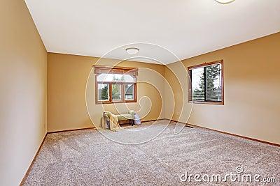 Int rieur vide de chambre coucher dans la couleur douce for Le vide interieur