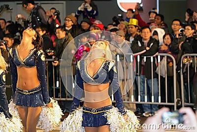 Hong Kong :Intl Chinese New Year Night Parade 2012 Editorial Stock Image