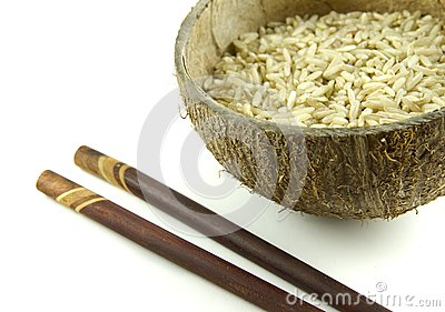 Integral rice grains