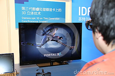 Intel IDF 2012 Editorial Stock Photo