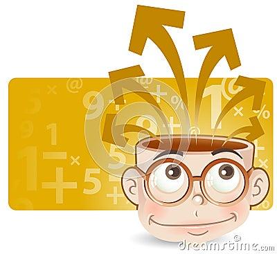 Free Intelligent Kid Stock Photo - 5378000