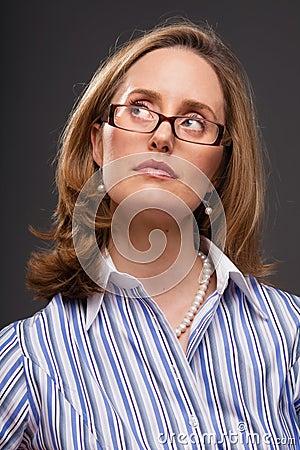 Intelligent woman