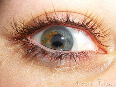 Intense eye
