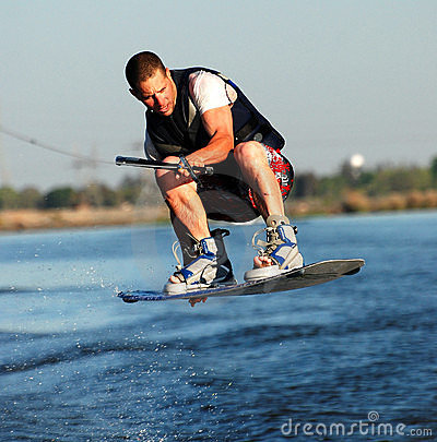 Intense Wakeboarding