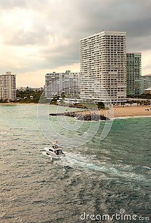 Inter-coastal Waterway in Ft. Lauderdale