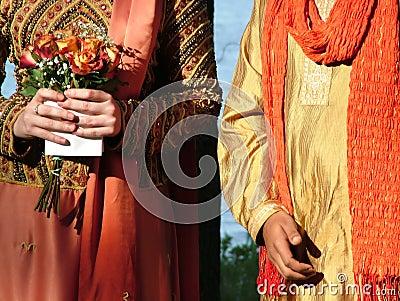 Inter-cultural wedding