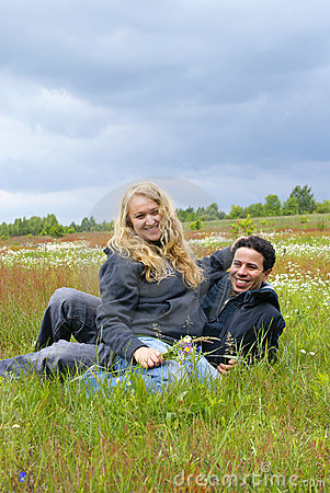 Free Inter-ethnic Couple Stock Image - 19729761