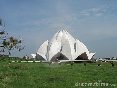 Inter Faith Bahai Lotus Temple New Delhi India