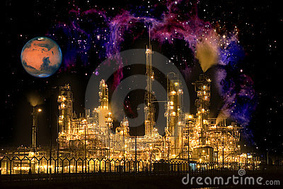 Inter-Galactic Oil Refinery