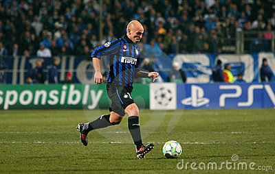 Inter Milano s Esteban Cambiasso Editorial Stock Image