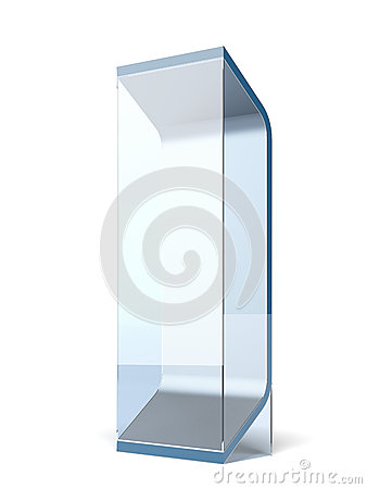 Interactive glass stand