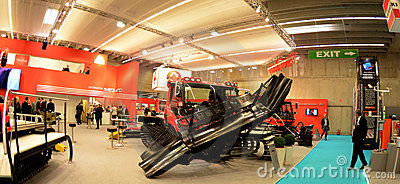 Interalpin 2011 Kässbohrer PistenBully Editorial Image