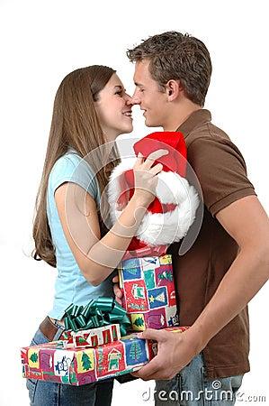 Intercambiar los regalos