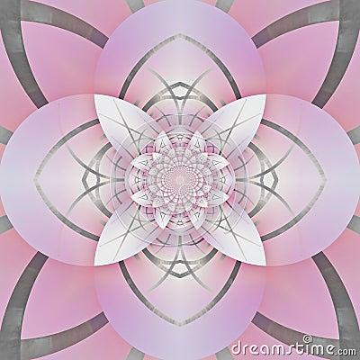 Interesting petal-like abstract design