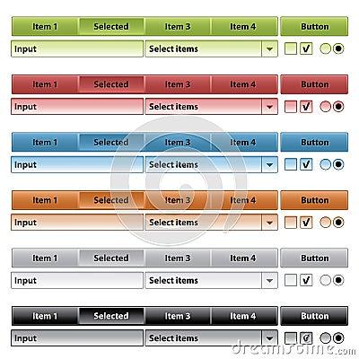 Interface items