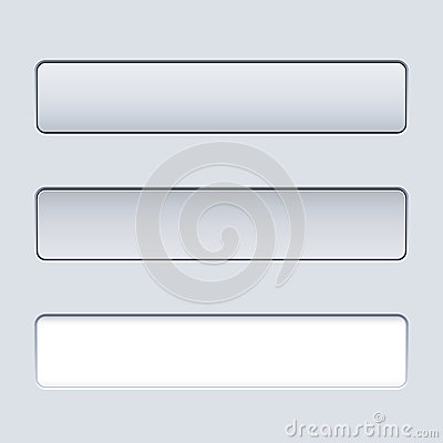 Interface rectangular button