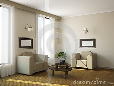 The Interior Royalty Free Stock Images - Image: 24867889